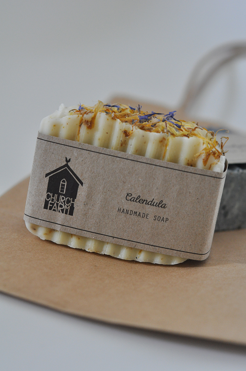 Take home treats... bars of Church Farm General Store soap