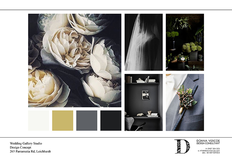 Concept Board: Organic Luxury