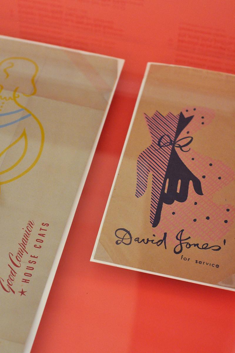 Susan Kozma-Orlay - graphic design for David Jones