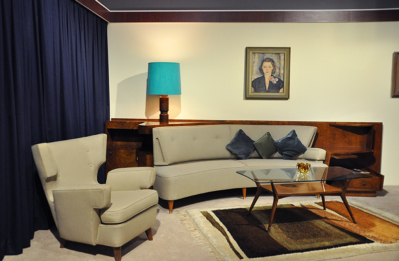 Furniture by Michael Gerstl for a Rose Bay modernist home (which has now been demolished)
