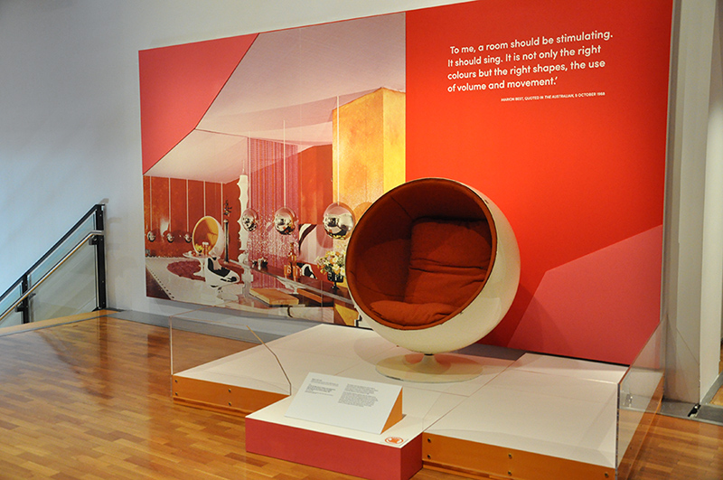 1967 Room For Mary Quant SIDA Exhibition, Sydney