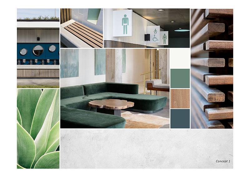 Medical Centre Colour Concept - Option 1