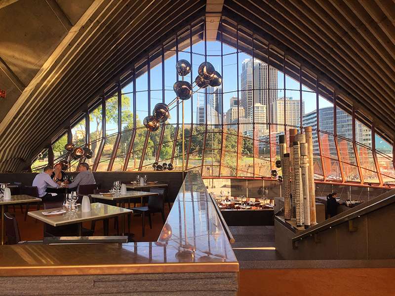 Bennelong restaurant interior