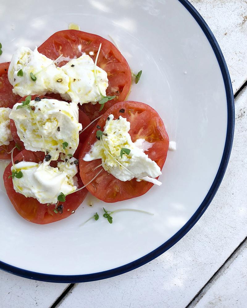 Tomato salad - Watson's Bay Boutique Hotel