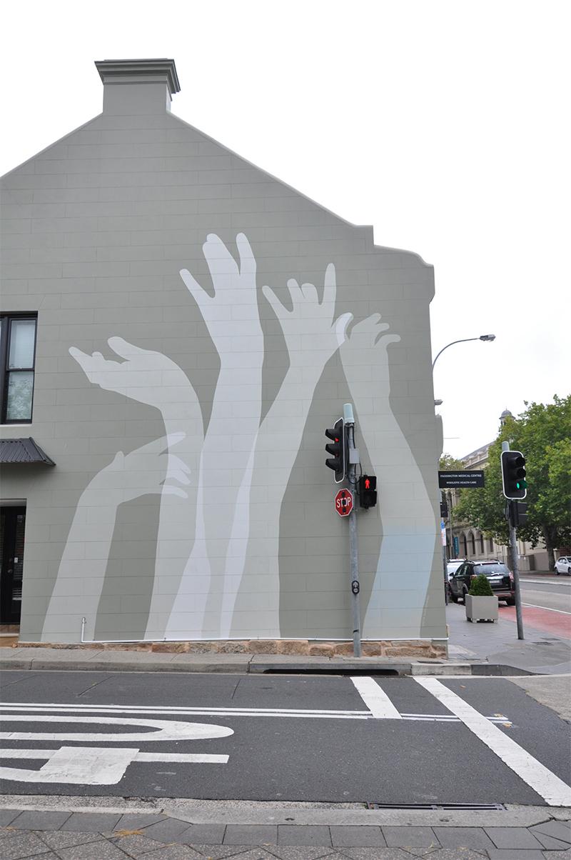 Paddington wall mural