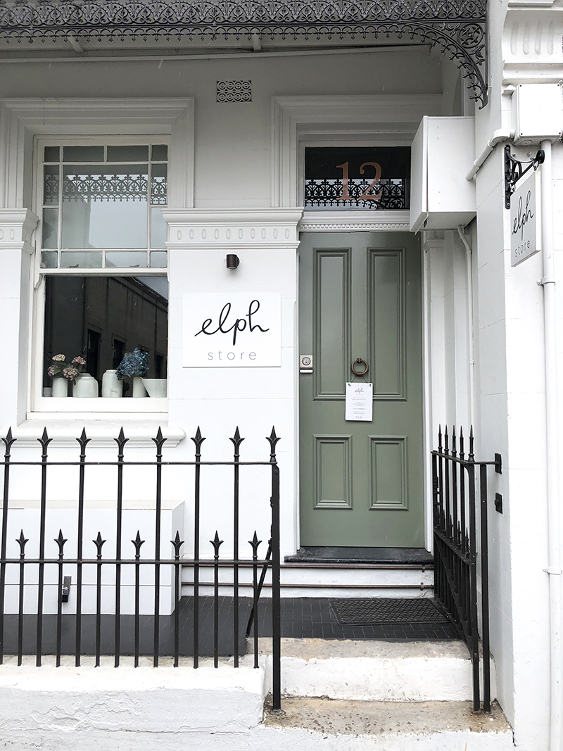 Elph store on William Street