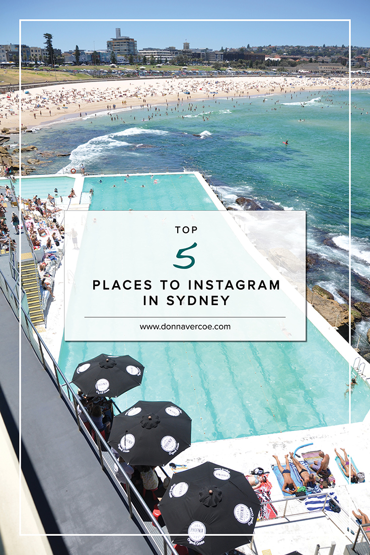 Top 5 Places to Instagram in Sydney