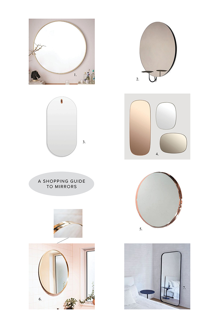 Shopping Guide to Mirrors