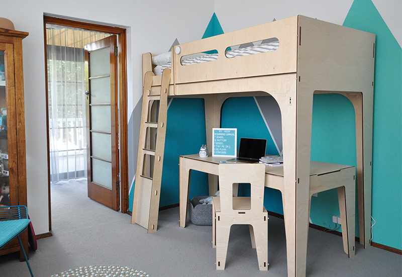 child's retreat - Space for a creative young girl.