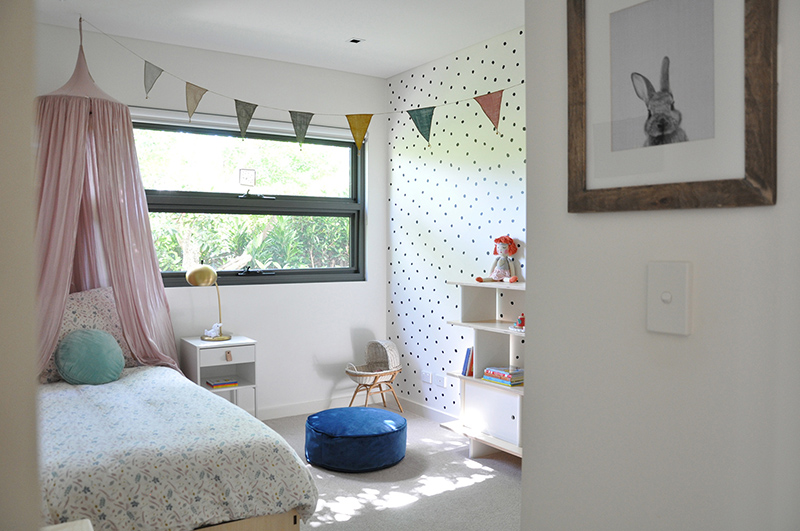Sweet child's room - Woodland themed bedroom for a young girl.