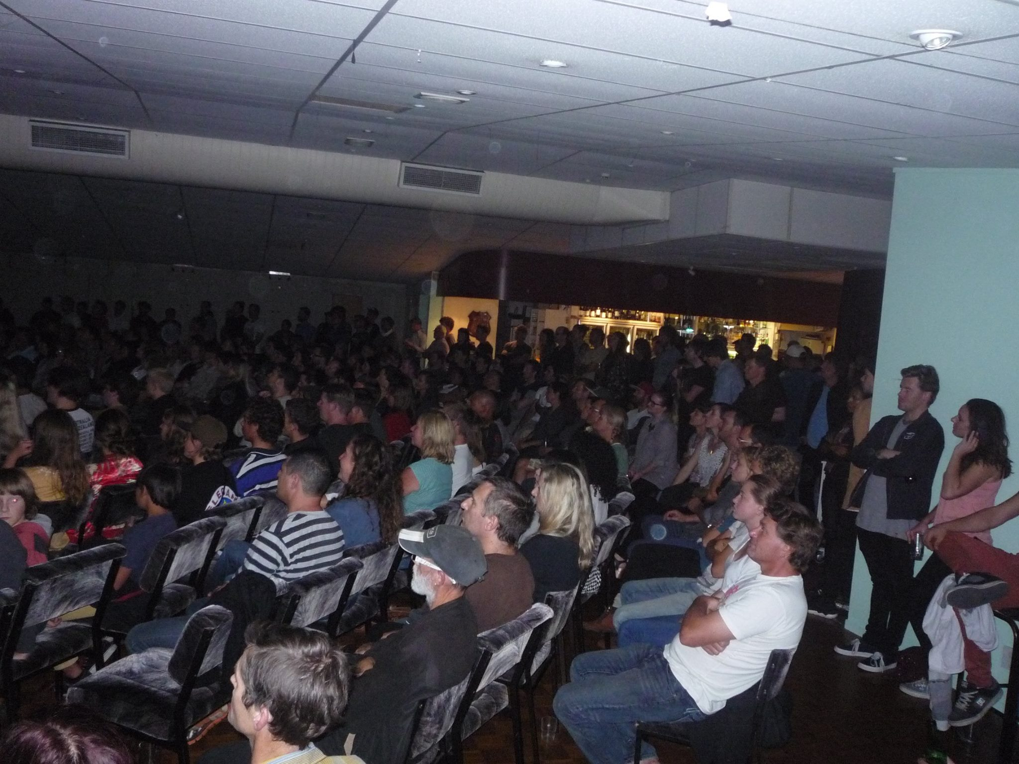 The Pt Chev Raza was packed