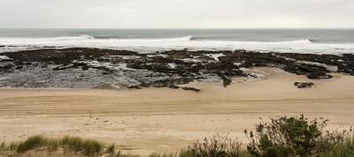 Last weekend's waves