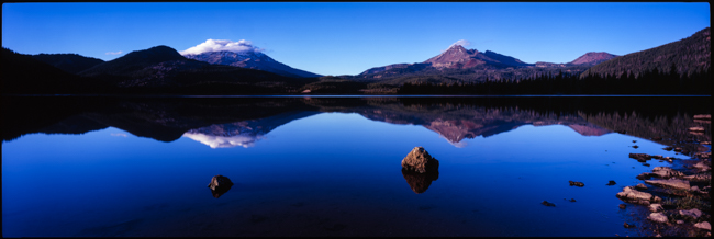 Sparks Lake Glass, click on the image to see it big
