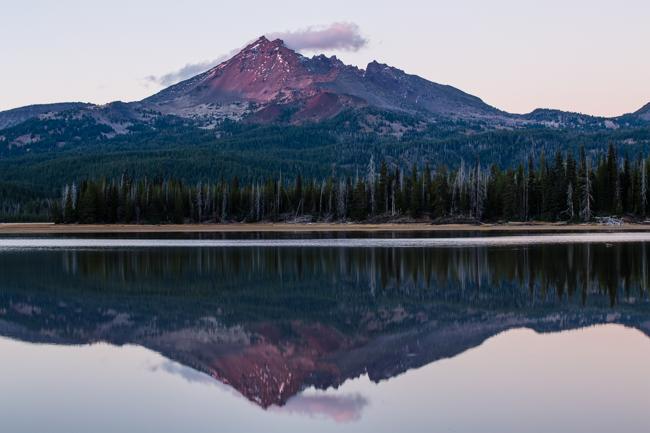 Oregon's Broken Top Mountain x2
