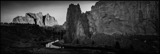 Smith Rock Dawn, yep, just click on the image to see more detail...there's a lot of detail