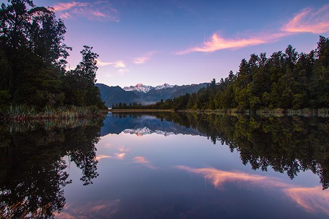 Lake Matheson photo Rachel Stewart