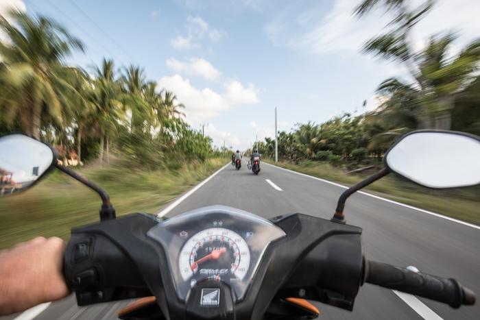 According to the speedo I'm a pretty slow rider