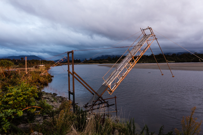 Whitebait stations at Haast. Shot on a Canon 5Dmkiii with a Zeiss 50mm lens