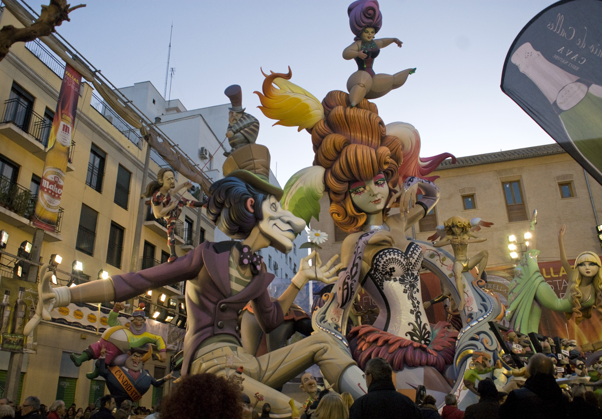 El Pilar falla- one of the biggest and most spectacular in the city.