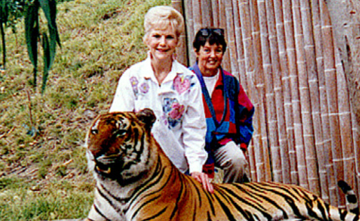 Our fearless founders: Barbara Cappa and Pat Graham
