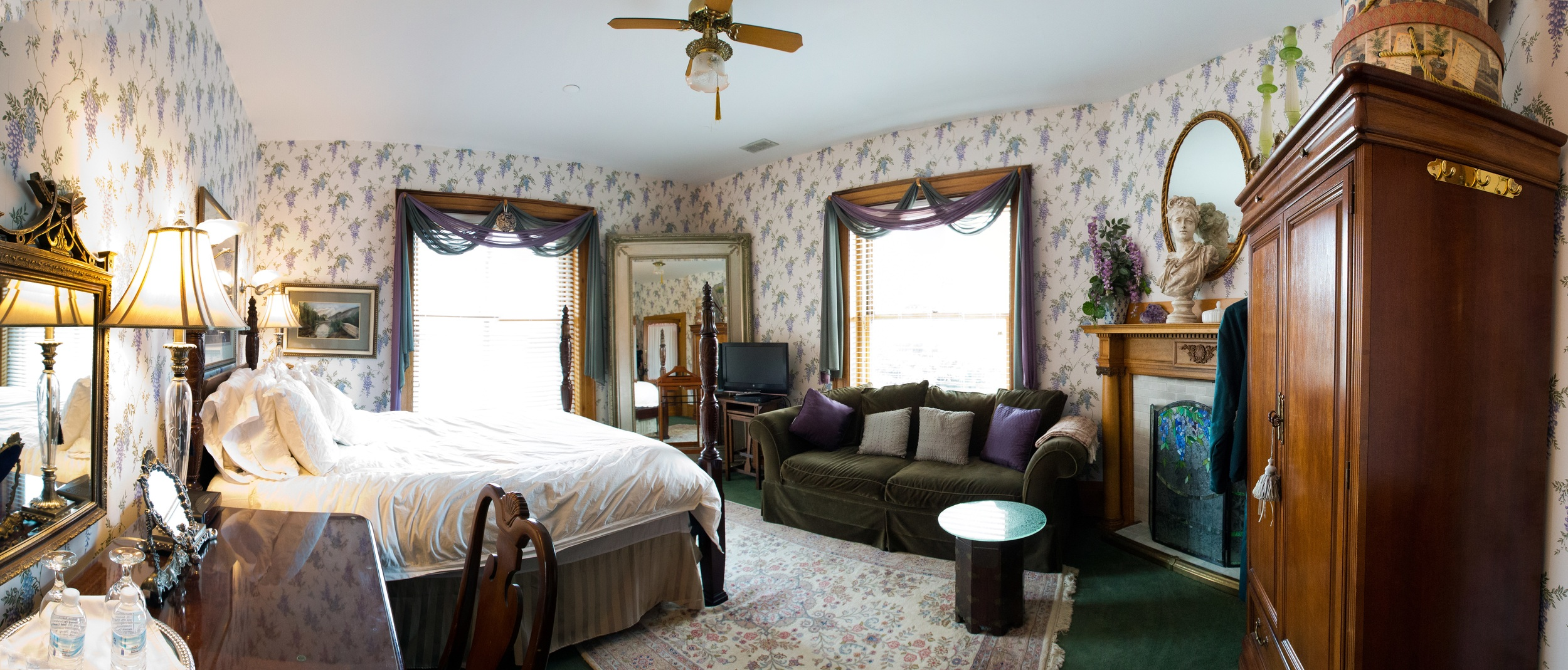 Room 2 - Single Queen Bed - $140 per night
