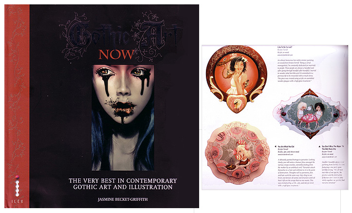 """""""Gothic Art Now""""- Artist Feature, Published 2008"""