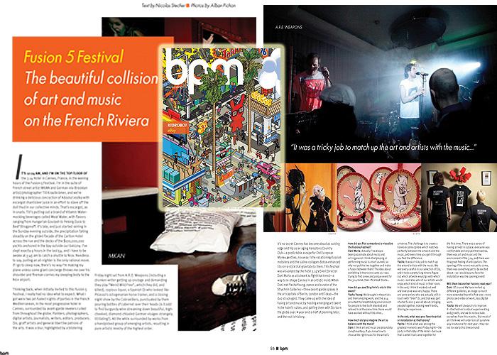 BPM Magazine Exhibit Review- 2008