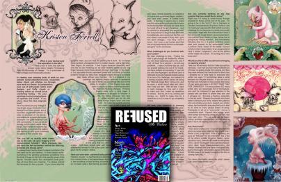 Refused Magazine- artist feature 2010