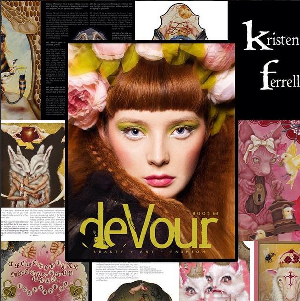 deVour Magazine- artist feature 2015