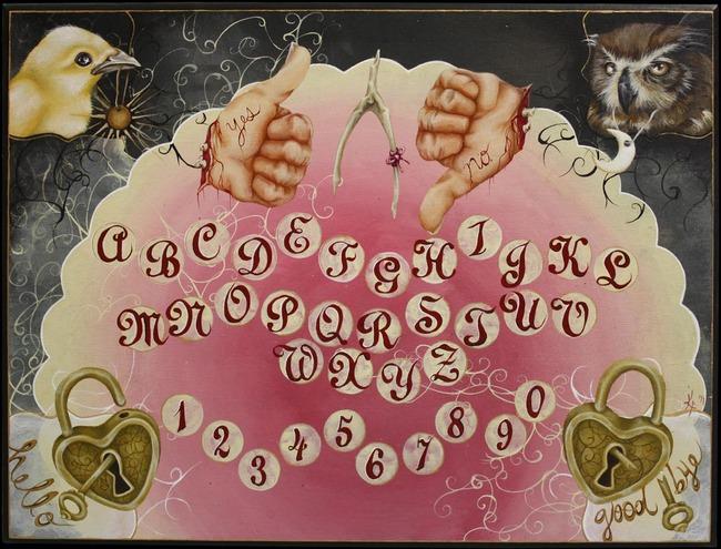 Kristen Ferrell Ouija Board