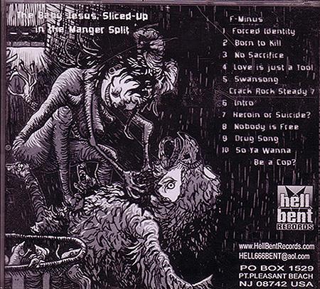 f-Minus/Crack Rock Steady 7 album cover