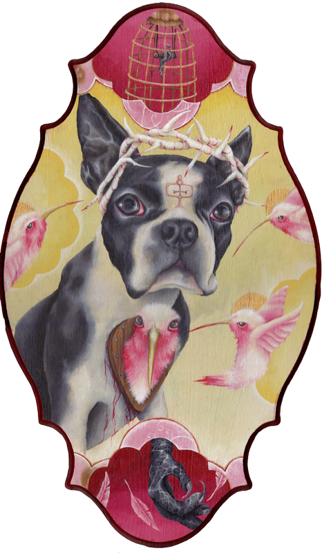 Kristen Ferrell - Pet Portrait, Stinky- used as a muse