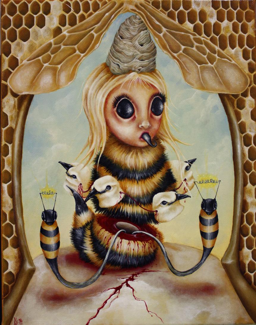 Kristen Ferrell Queen Bee