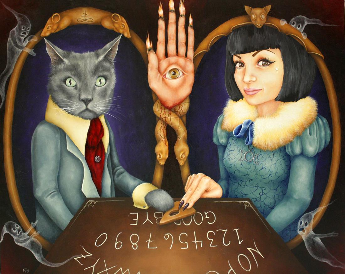 Kristen Ferrell Occult Pet Portrait