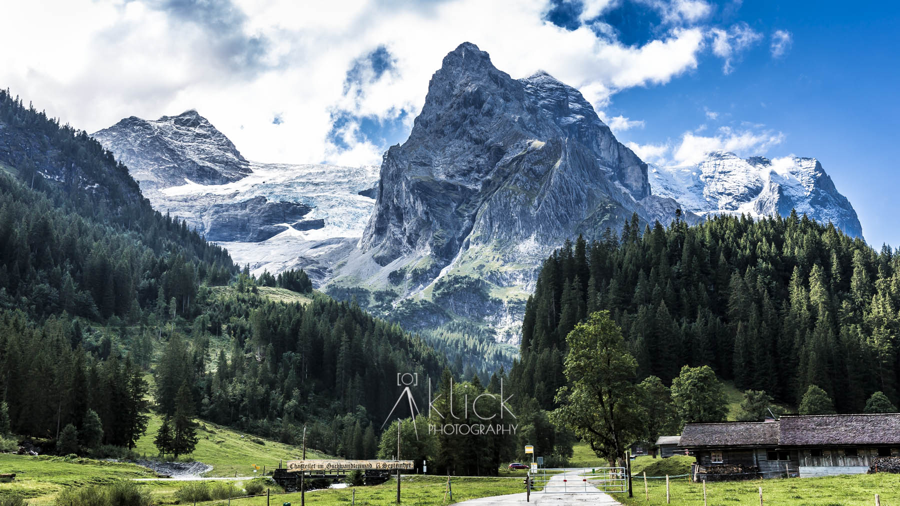 Klein Wellhorn in the Bernese Alps, Switzerland
