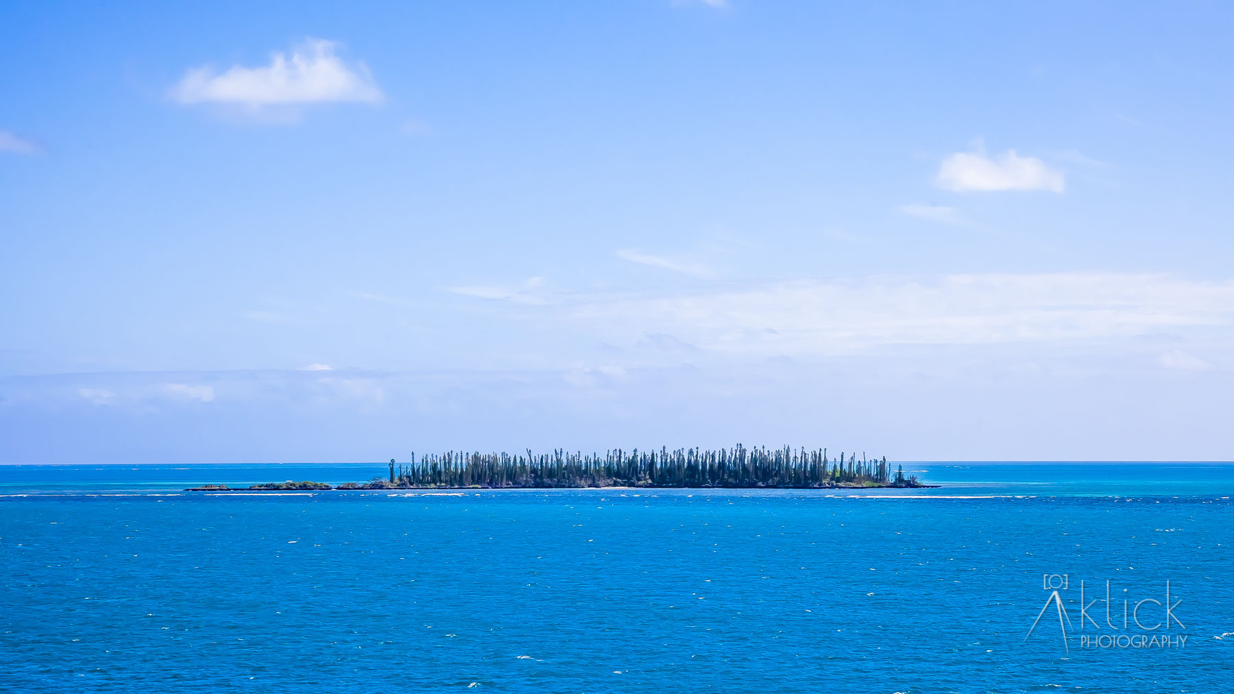 A gorgeous little island just off the Coast of New Caledonia