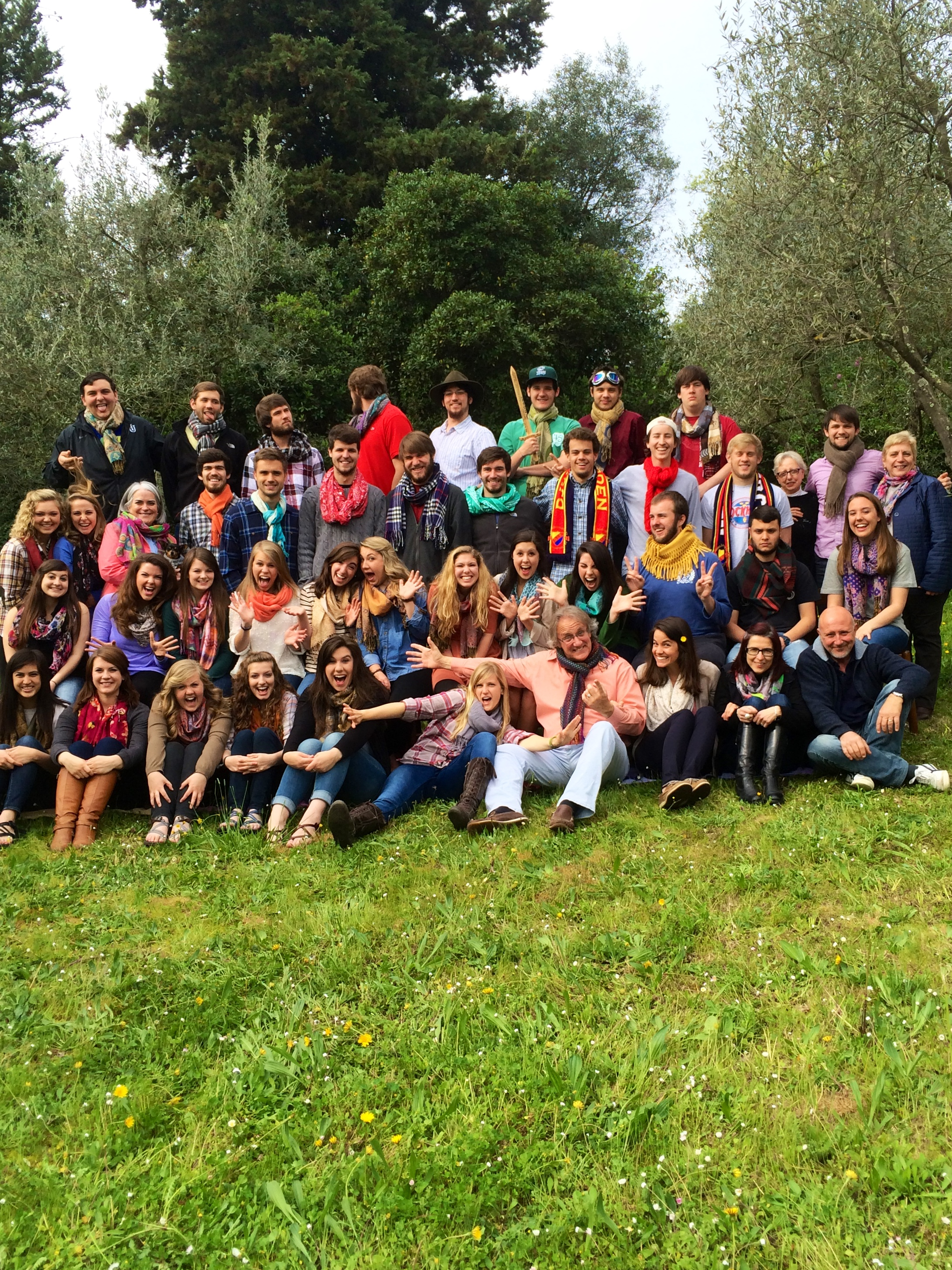 Harding University in Florence    Spring of 2014