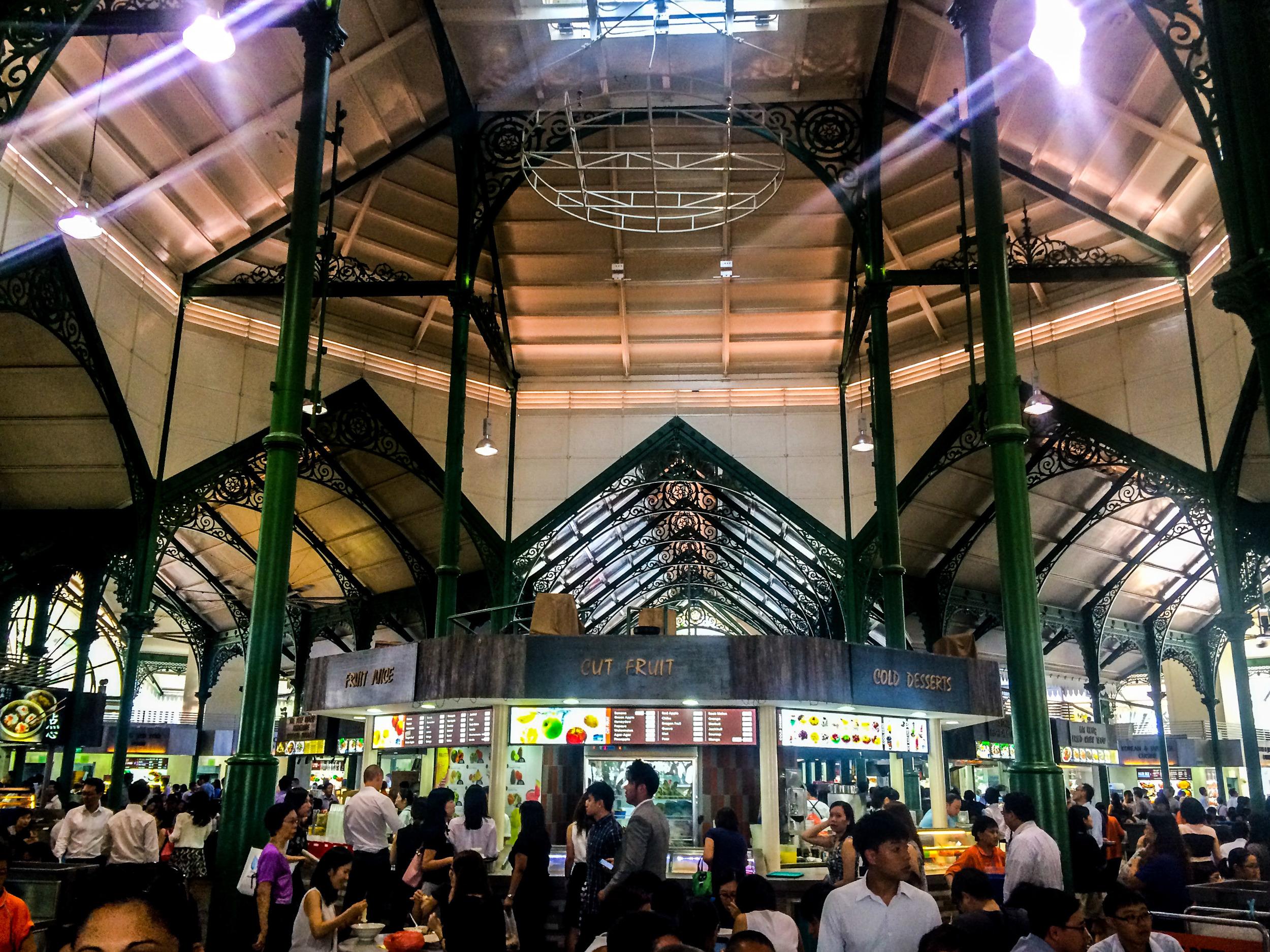 Lau Pa Sat Hawker Center