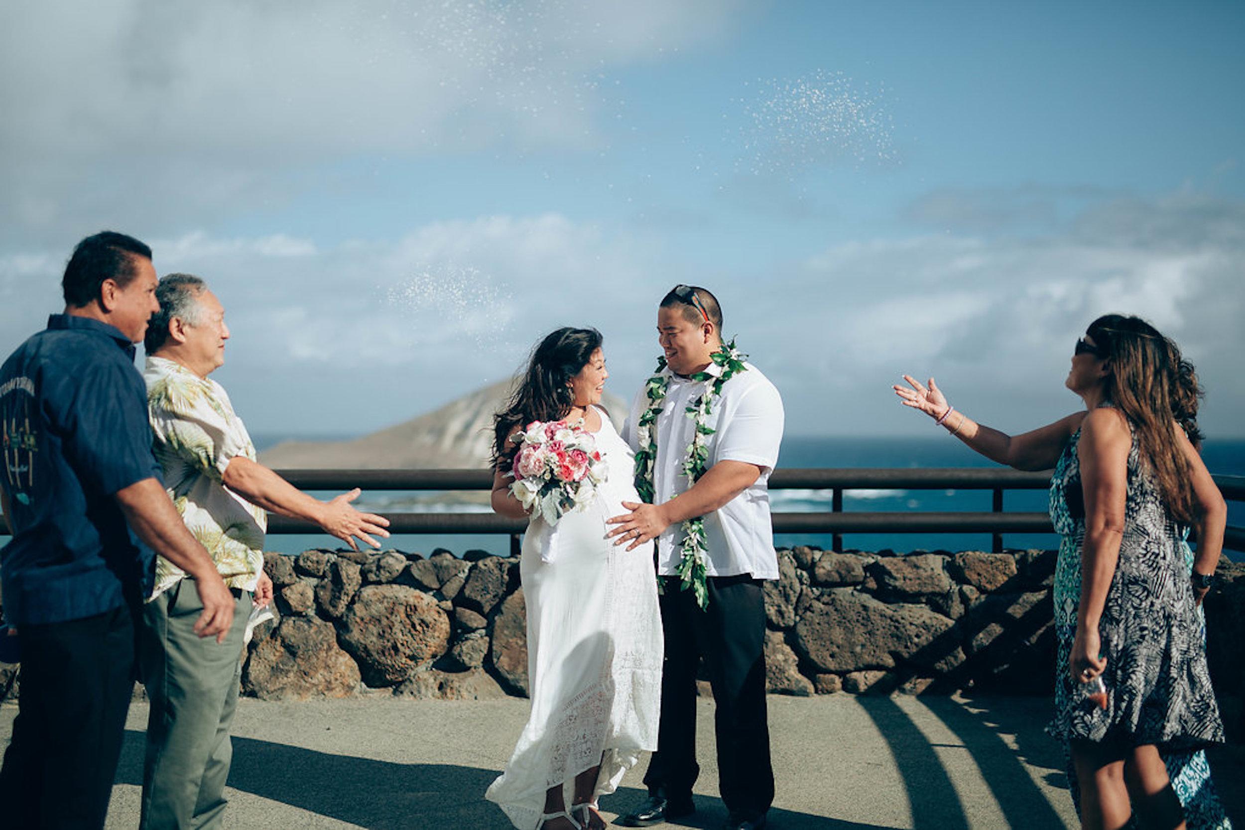 Wedding Hair and Makeup - Honolulu, Hawaii