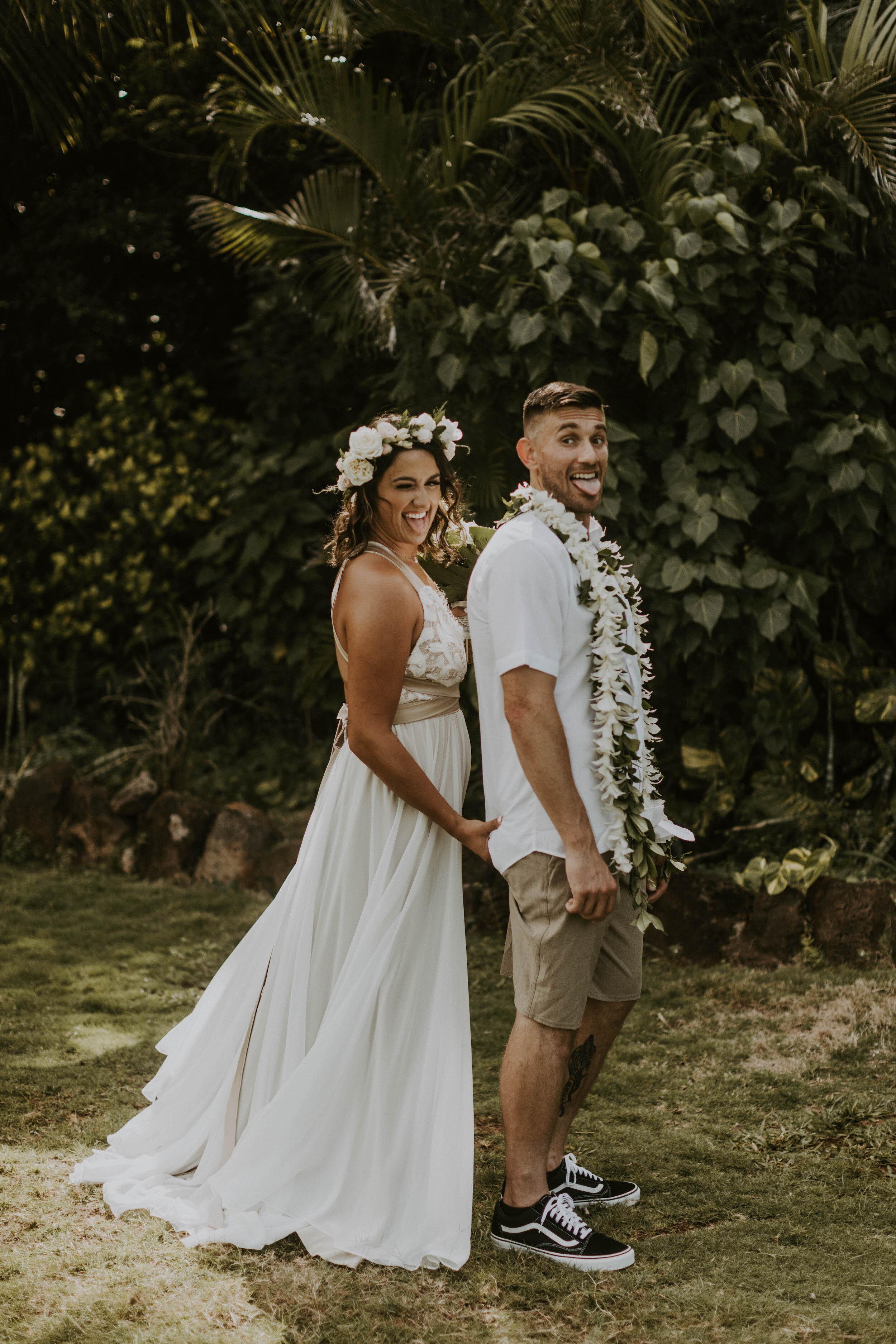 Bridal Hair and Makeup - Beach Wedding
