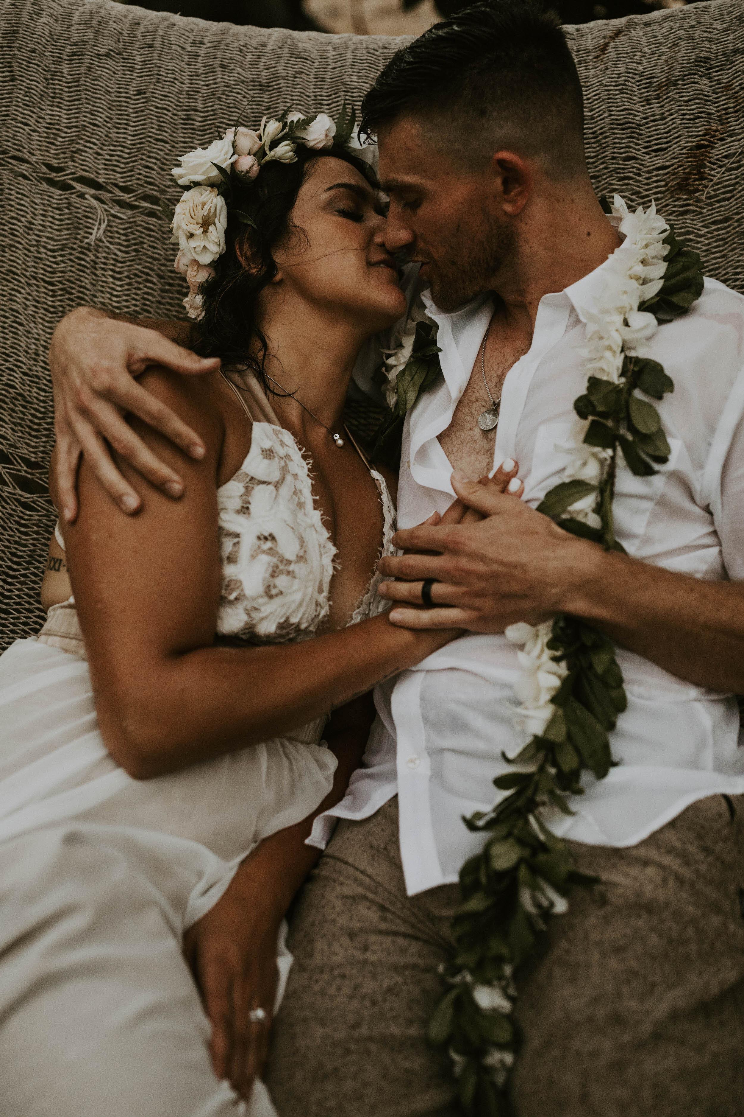 Bridal Hair and Makeup - Loulu Palm, Oahu, Hawaii