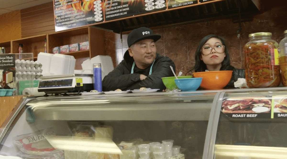 TAWK Show: Awkwafina Has a 'TAWK' With Roy Choi