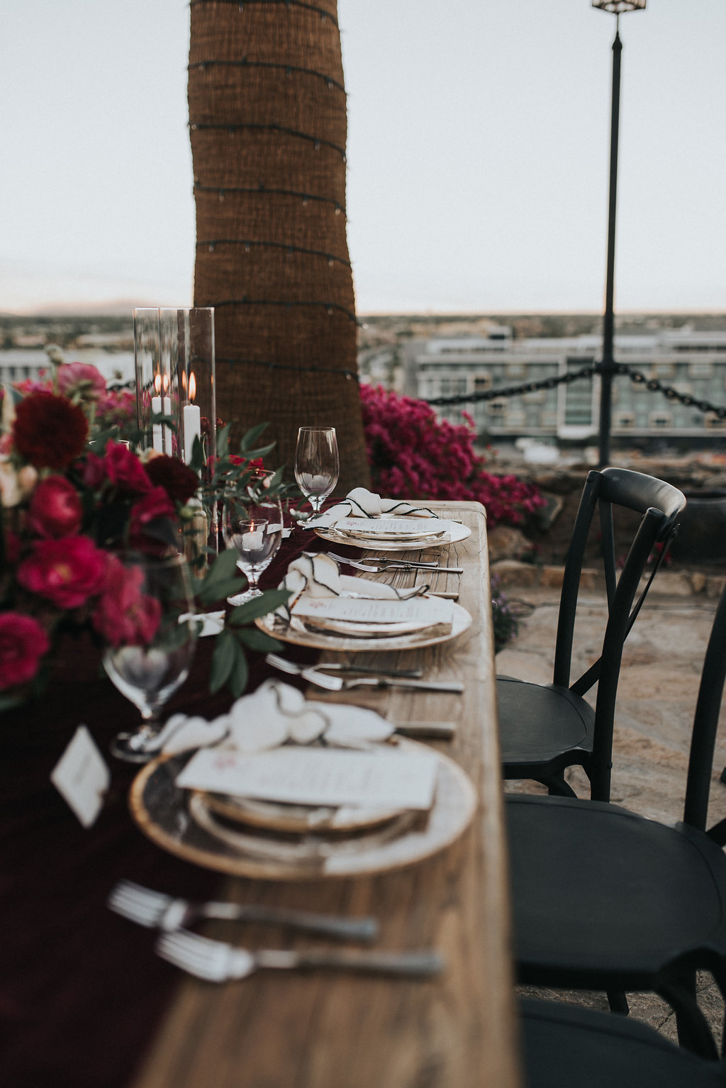 Moody Palm Springs O'donnell House Wedding
