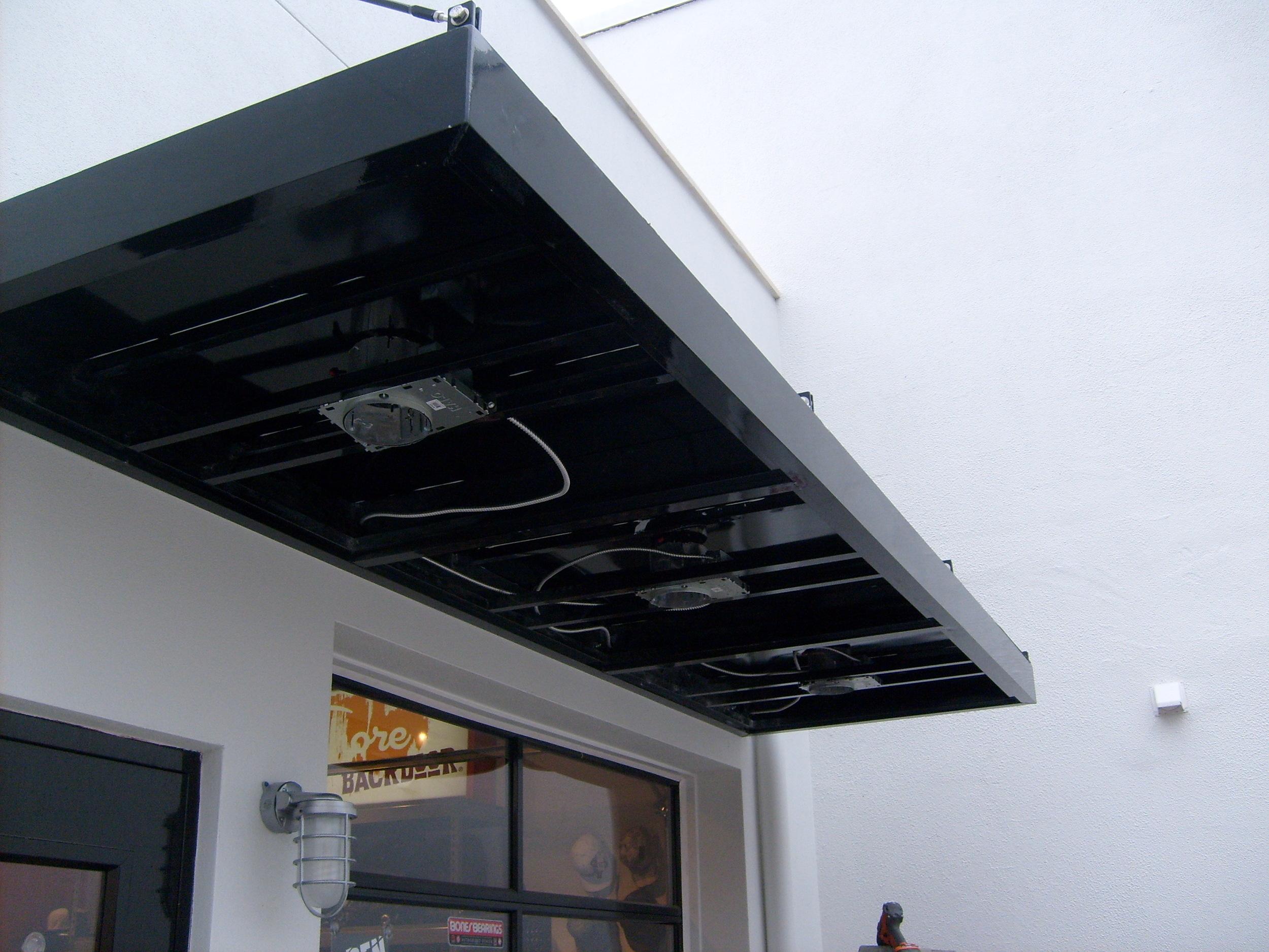 297 Lights Installed on the Underside
