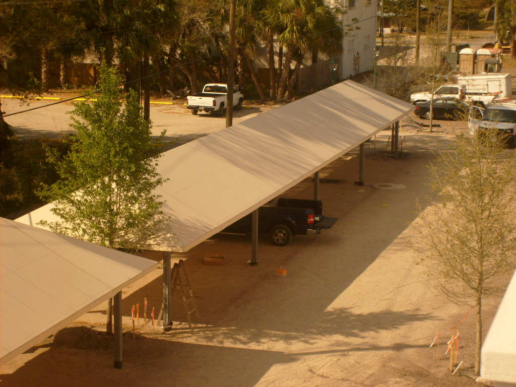 701 Covered Parking Sunbrells Fabric