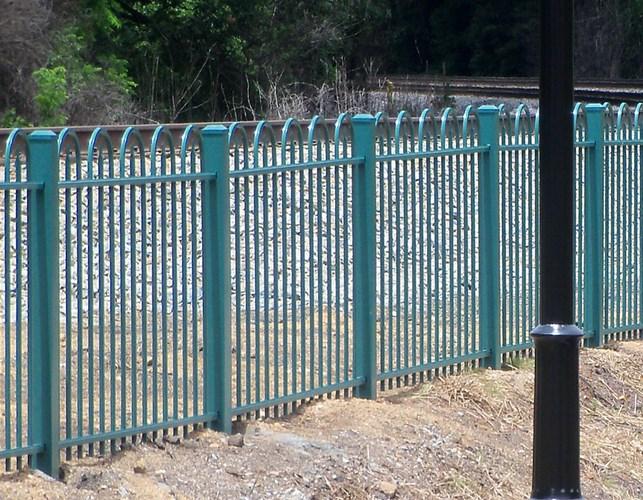 931 Security Fence Eight Feet tall