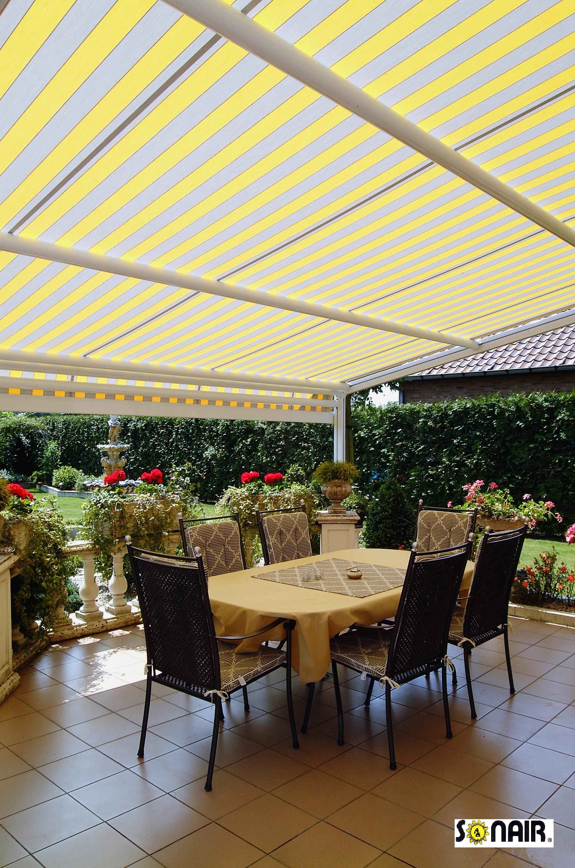 334 Our Pergolas come with almost any Fabric