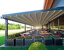 330 Motorized Pergolas for Restaurants