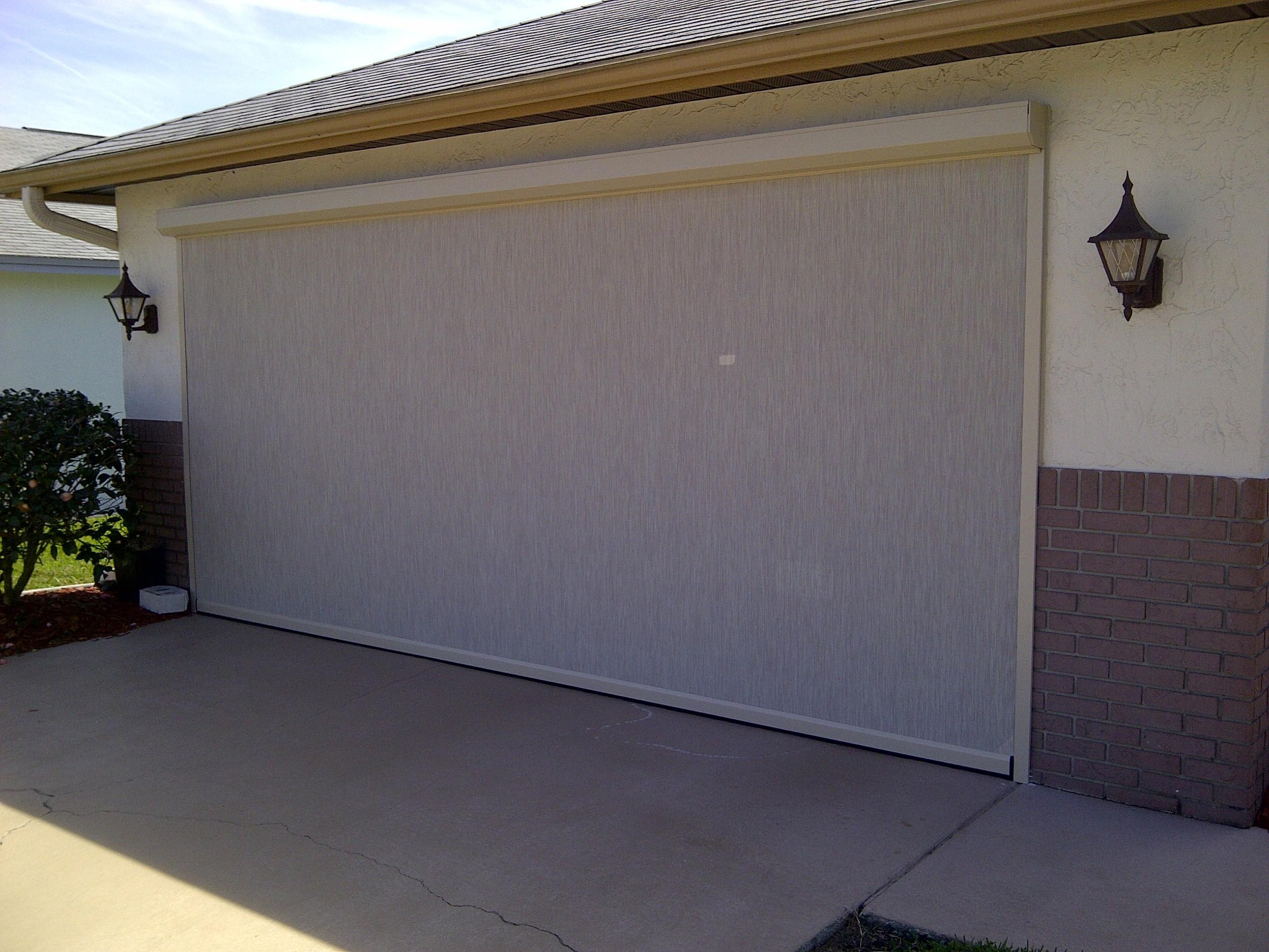 219 Garage Door Screens