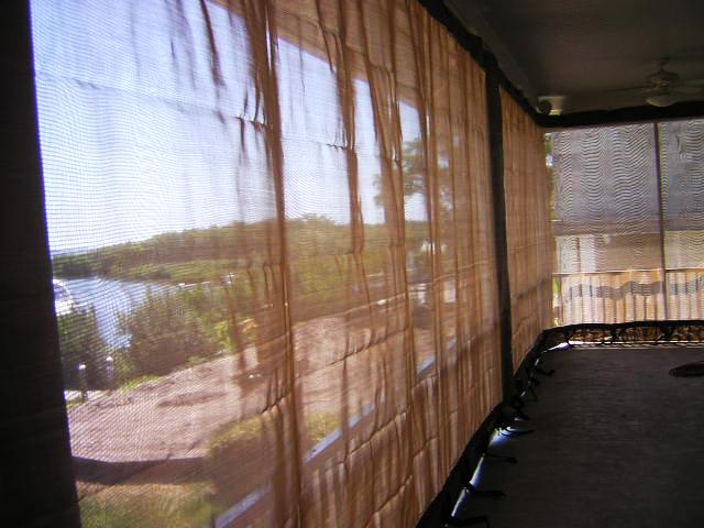 Armor Screens Viewing from inside Sarasota